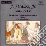 Strauss Johann - Edition Vol.42: Integrale Delle Opere Orchestrali cd musicale di Johann Strauss
