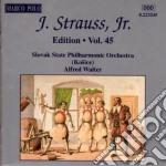 Edition vol.45: integrale delle opere or cd musicale di Johann Strauss
