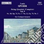 Quartetti x archi vol.9 (integrale): qua cd musicale di Louis Spohr