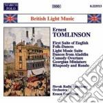Tomlinson - Comedy Overture, Light Music Suite, Shenandoah, Cumberland Square, Rapsodia E Ro cd musicale di Tomlinson