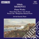 Mihaly Mosonyi - Piano Works 3 Pieces cd musicale di MihÁly Mosonyi