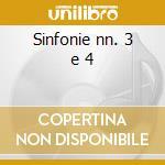 Sinfonie nn. 3 e 4 cd musicale di Malipiero gian franc