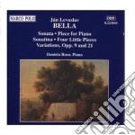 Bella - Sonata In Sib Min, Pezzo X Pf In Do Min, Variazioni Op.9, Op.21, Sonatina In Mi  - Ruso Daniela  Pf cd musicale di Bella