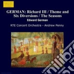 Opere per orchestra vol.1: richard iii ( cd musicale di Edward German