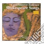 Castelnuovo Tedesco Mario - Shakespeare Songs /william Wellborn Pf. cd musicale di Tedesco Castelnuovo