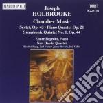 Sestetto op.43, quartetto con pf op.21, cd musicale di Holbrooke