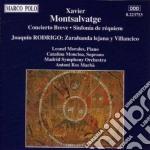 Montsalvatge cd musicale
