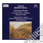 Rosenthal /caterine Dubosc Sop, Orchestre Sinfonique Et Lyrique De Nancy cd musicale