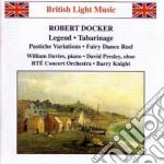 Docker Robert - Legend, Scene Du Bal, 3 Contrasti X Oboe E Archi, Tabarinage, Scenes De Ballet cd musicale di Robert Docker