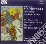 Lieder (integrale) cd musicale di Edward Macdowell