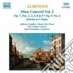 Concerti per oboe (integrale) vol.2 cd musicale di Albinoni tomaso giov