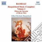 Music for harpsichord vol.2 cd musicale di Gilbert Rowland