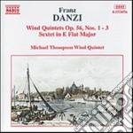 Danzi Franz - Quintetto X Fiati N.1 > N.3 Op.56, Sestetto In Mib Magg. cd musicale di Franz Danzi