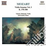 Mozart Wolfgang Amadeus - Sonate X Vl Vol.3: Sonate Nn.10 > 12 K 378 > 380 cd musicale di Wolfgang Amadeus Mozart