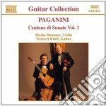 Paganini Niccolo' - Centone Di Sonate Vol.1: Sonata I > Vi cd musicale di Niccolo' Paganini