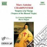 Charpentier Marc-antoine - Vespri Della Beata Vergine cd musicale di Marc-ant Charpentier