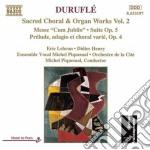 Maurice Durufle' - Corali E Opera Per Organo,  Vol.2 cd musicale di Maurice Durufle'