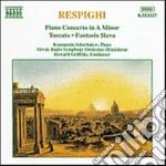 Respighi Ottorino - Concerto X Pf, Toccata X Pf E Orch,fantasia Slava X Pf E Orch cd musicale di Ottorino Respighi