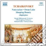 Tchaikovsky - The Nutcracker, Swan Lake & Sleeping Beauty Highlights - Slovak Philharmonic Orchestra cd musicale di Ondrej Lenard