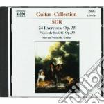 Sor Fernando - Esercizi X Chit Op.35 N.1 > N.24, Pieces De Societe' Op.33 cd musicale di Fernando Sor
