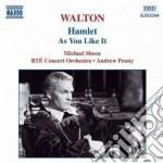William Walton - Hamlet, As You Like It cd musicale di William Walton