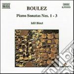 Boulez Pierre - Sonata X Pf N.1 > N.3 cd musicale di Pierre Boulez