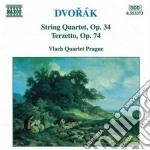 Dvorak Antonin - Quartetto X Archi N.9 Op.34, Terzetto Op.74 cd musicale di Antonin Dvorak