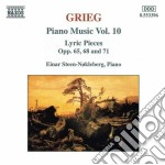 Opere x pf vol.10 (integrale): pezzi lir cd musicale di Edvard Grieg
