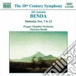 Benda Frantisek - Sinfonia N.7 > N.12 cd musicale di Frantisek Benda