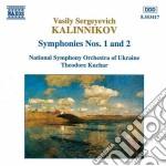 Kalinnikov Vasily - Sinfonia N.1, N.2 cd musicale di Kalinnikov