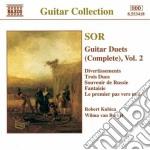 Duetti x chit (integrale) vol.2: diverti cd musicale di Fernando Sor