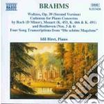 Valzer op.39 (seconda versione), 4 trasc cd musicale di Johannes Brahms
