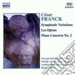Franck Cesar - Variazioni Sinfoniche, Les Djinns, Concerto X Pf N.2 Op.11 cd musicale di CÉsar Franck