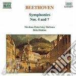 Beethoven Ludwig Van - Sinfonia N.4 Op.60, N.7 Op.92 cd musicale di Bela Drahos