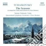 Le stagioni (arrangiamento per violino e cd musicale di Ciaikovski pyotr il'