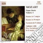 Piano duets volume 1 cd musicale di Wolfgang Amadeus Mozart