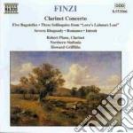 Finzi Gerald - Concerto X Clar Op.31, 5 Bagatelle Op.23a, 5 Soliloqui Op.28, A Severn Rhapsody cd musicale di Gerald Finzi