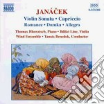 Sonata x vl, capriccio (x pf mano sinist cd musicale di Leos Janacek
