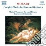 Opere x corno e orchestra (integrale): c cd musicale di Wolfgang Amadeus Mozart
