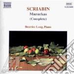 Mazurkas (complete) cd musicale di SCRIABIN