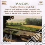 Complete chamber music v.1 cd musicale di POULENC