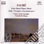 Gabriel Faure' - Opere X Pf A 4 Mani: Dolly, Masque Et Bergamasque, Souvenirs De Bayreuth, 8 Pezz cd musicale di Gabriel Faure'