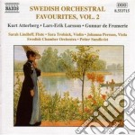 Swedish Orchestral Favourites Vol.2 cd musicale