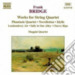 Bridge Frank - Musica X Quartetto D'archi: Phantasie Quartet, Novelletten, 3 Idylls, cd musicale