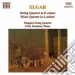 Elgar Edward - Quartetto Op.83, Quintetto Con Pf Op.84 cd musicale di Edward Elgar