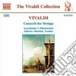 Vivaldi Antonio - Concerti X Archi: Concerti Rv 114, 161,138, 157, 167, 153, 151, 156, 113, 127 cd musicale di Antonio Vivaldi