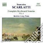 Scarlatti Domenico - Sonate Per Tastiera, Vol.4 cd musicale di SCARLATTI