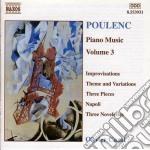 Opere x pf (integrale) vol.3: theme vari cd musicale di FranÇis Poulenc