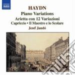 Haydn Franz Joseph - Variazioni Per Pianoforte cd musicale di Haydn franz joseph