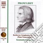 Opere x pf (integrale) vol.15: trascrizi cd musicale di Franz Liszt
